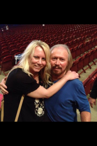 Barry Gibb at the Wells Fargo Center in Philadelphia