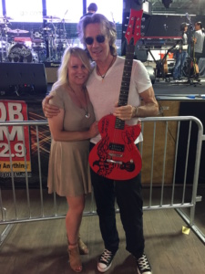 With Rick Springfield in Fort Myers, FL