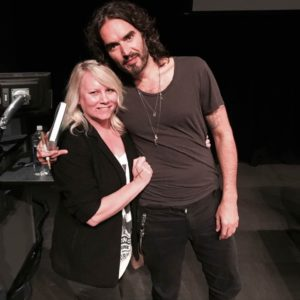 Meeting the infamous Russell Brand in Brooklyn